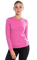 Женская спортивная кофта лонгслив Radical Efficient SG розовая, фото 1