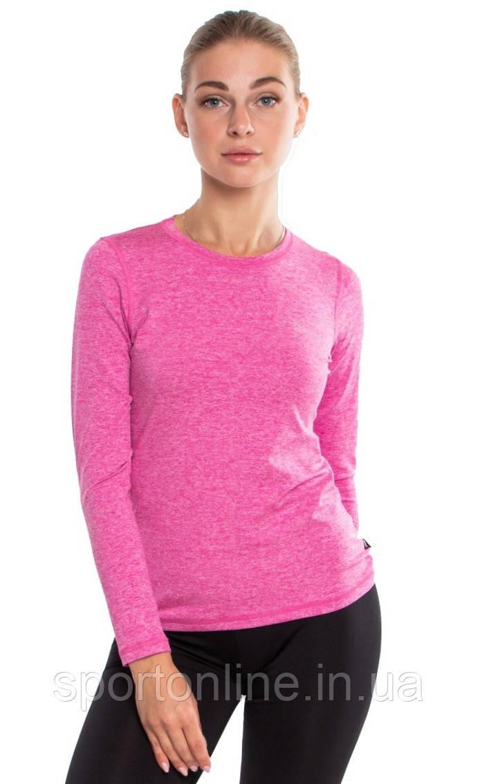 Женская спортивная кофта лонгслив Radical Efficient SG розовая