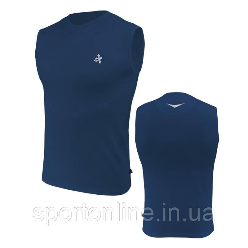 Мужская спортивная футболка без рукава Rough Radical Tanker темно синяя