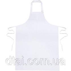 Фартук дояра ПВХ белый, 120х90 см