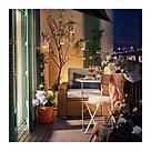 ИКЕА (IKEA) САЛЬТХОЛЬМЕН, 803.118.33, Садовый стол, складной бежевый, 65 см - ТОП ПРОДАЖ, фото 3