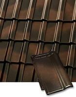 Черепица керамическая (Робен Пьемонт) Roben Piemont цвет рустикальный., фото 1