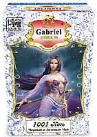 Чорний і зелений чай Gabby's (Gabriel) у картонній пачці «1001 Ніч» - Суниця і тропічні фрукти 100 гр