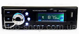 1 din Автомагнитола пионер Pioneer 1282 USB AUX (1 дин мощная магнитола в авто)