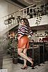 Модные женские шорты из эко-кожи больших размеров, черный, коричневый, золото, серебро, размеры: 48-50, 52-54, фото 3