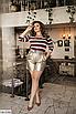Модные женские шорты из эко-кожи больших размеров, черный, коричневый, золото, серебро, размеры: 48-50, 52-54, фото 6