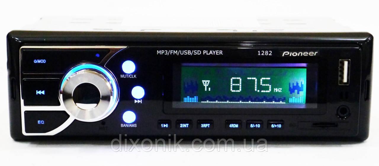 Автомагнитола пионер Pioneer 1282 USB AUX