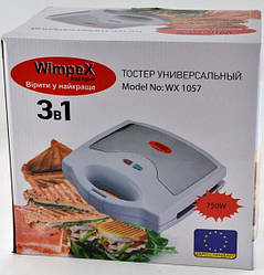 Тостер бутербродница гриль Wimpex Wx1057