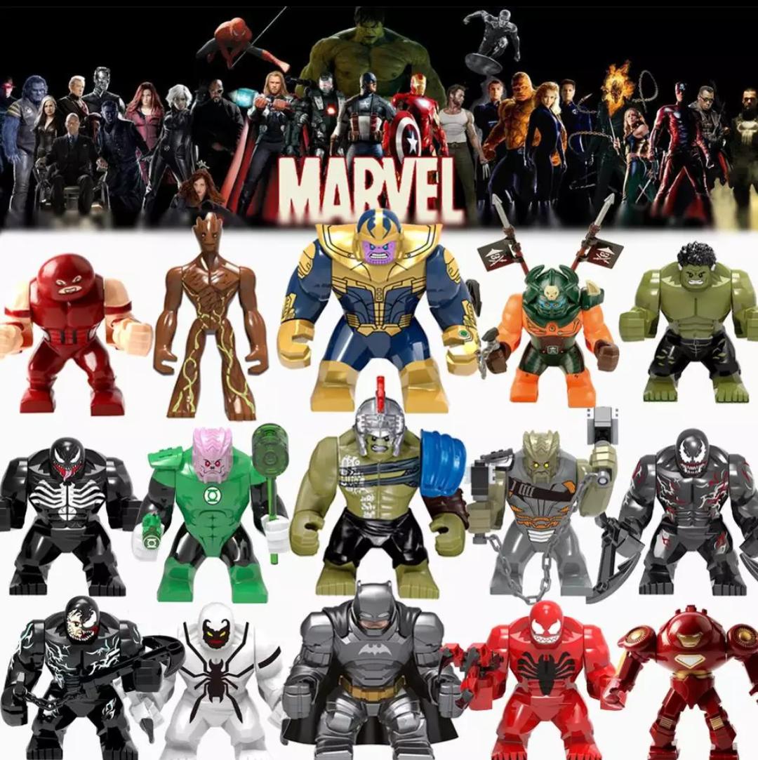Большие фигурки 7-9 см конструктор 7 аналог Лего