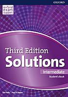 Учебник Solutions Third Edition Intermediate Student's Book