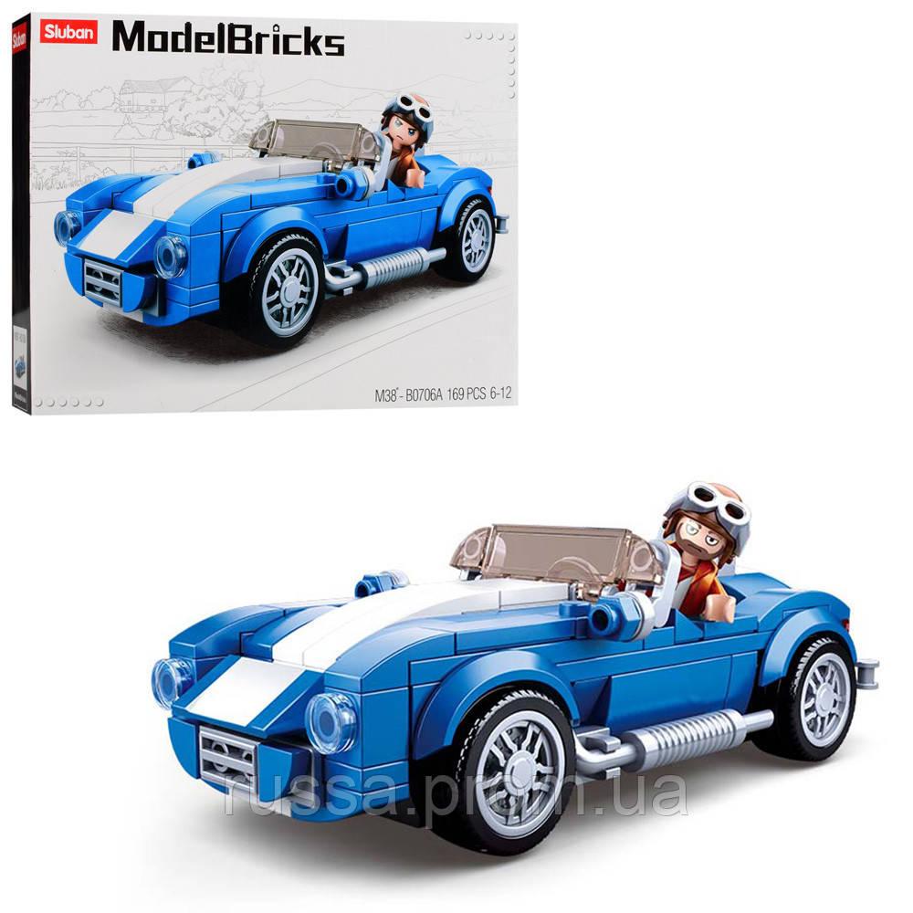 "Конструктор SLUBAN M38-B0706A ""Model Bricks"", 169 дет."