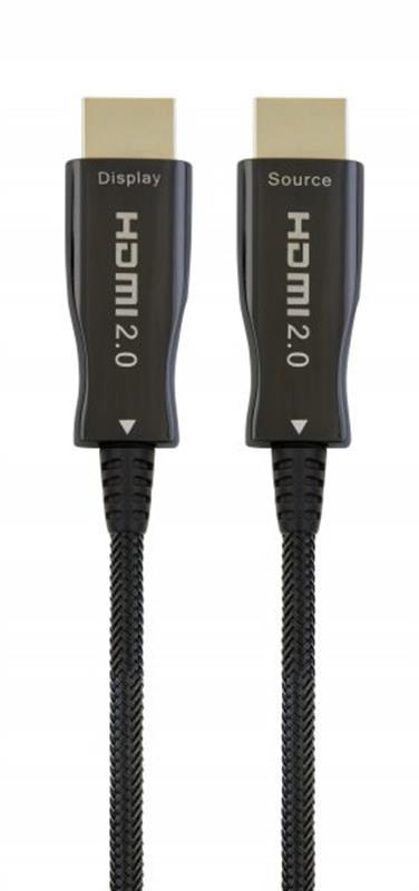 Кабель Cablexpert (CCBP-HDMI-AOC-30M) HDMI-HDMI V.2.0, вилка/вилка 30м Black