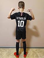 Футбольная форма детская PSG в стиле Jordan Neymar JN 2018-19 черная