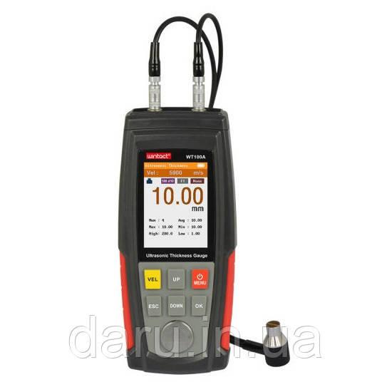 Ультразвуковой толщиномер Wintact WT100A (от 0,5  до 255 мм)