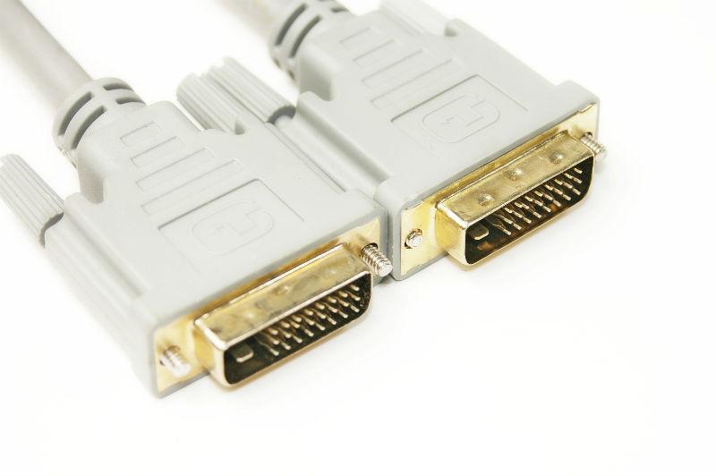 Кабель PowerPlant (KD00AS1283) DVI-D 24M-24M, 1.5м, White