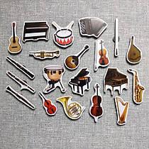 """Набор развивающих магнитов """"Музыкальные инструменты"""""""