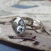 5 причин купить позолоченное кольцо с кристаллом Сваровски