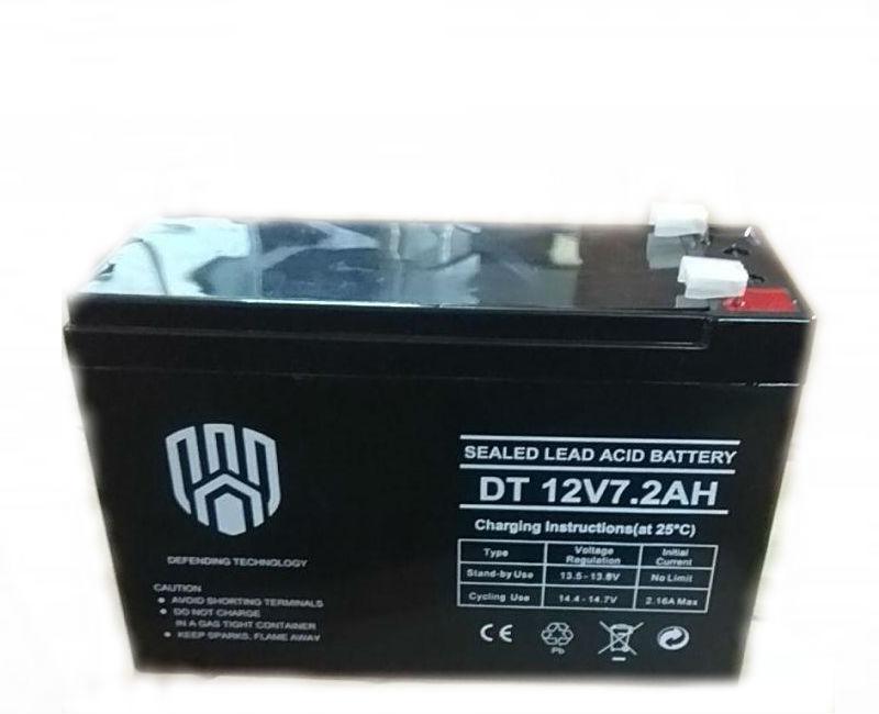 Акумулятор 12V 7.2 Ah DT
