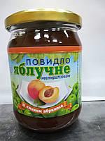 Повидло яблучне зі смаком абрикоса 600 г.
