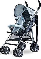 Детская коляска-трость Caretero Alfa Black, фото 1