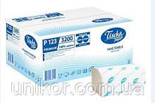 Полотенца бумажные, Z-обр. белые, 160 штук, Tisha Papier