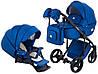 Детская универсальная коляска 2 в 1 Adamex Luciano Y220, фото 2
