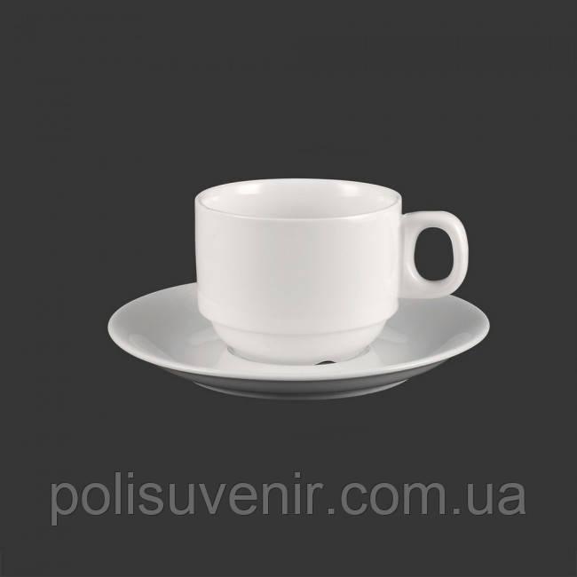 Чашка 140 мл з блюдцем