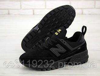 Мужские кроссовки New Balance 574 (черные)