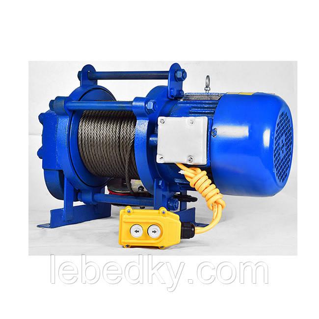 Лебедка строительная KCD 380v, 500-1000 кг, Electrik Winch