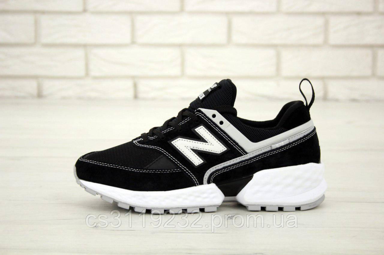 Чоловічі кросівки New Balance 574 (чорні)