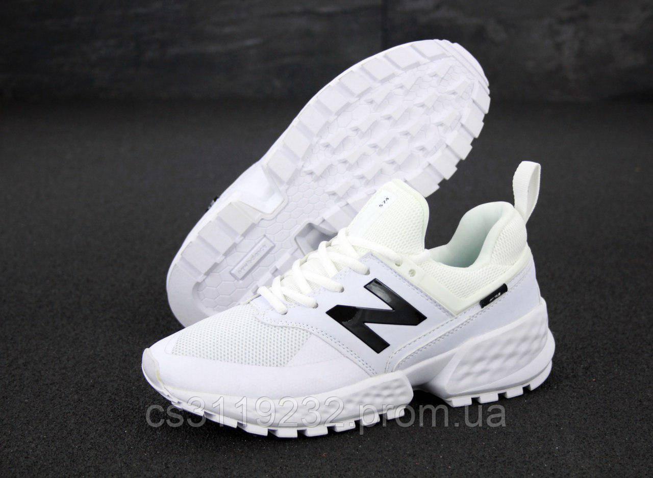 Мужские кроссовки New Balance 574 (белые)