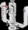 АlcaPLAST. Выпускной комплект со стоп кнопкой 1/2 SA2000 1/2 CHROM
