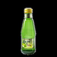 Лимонад Lacin со вкусом яблока 0,2 л газированный,стекло (уп/6 бут.)