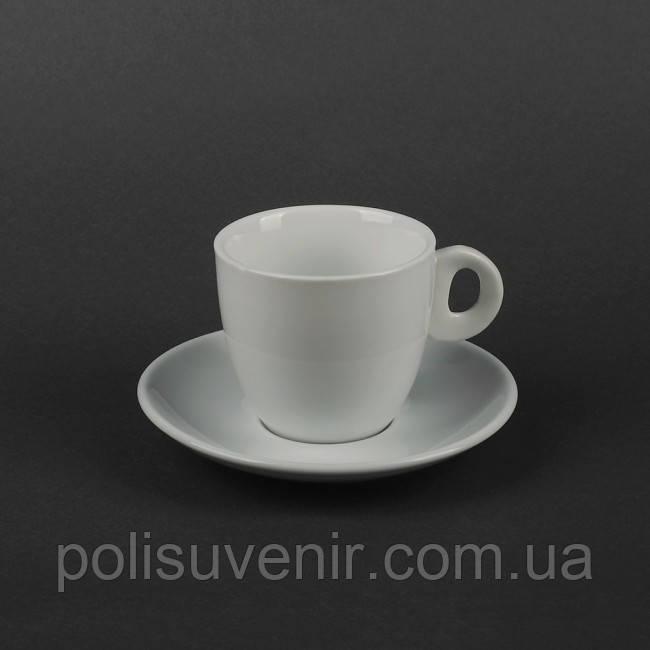 Чайний набір з 2 предметів: чашка 210 мл і блюдце