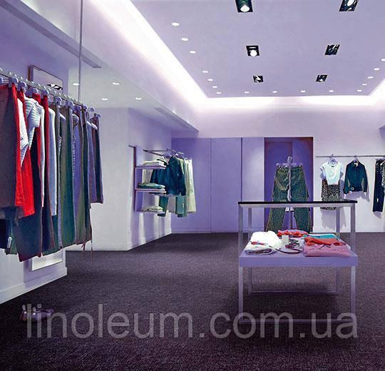Ковролин в планках Flotex p946016 Metro grape для магазинов, бутиков, торговых центров