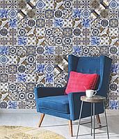 Дизайнерское панно в столовую Portuguese Vintage Tiles 465 см х 280 см