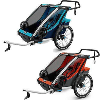 Детская коляска-прицеп Thule Chariot Cross 2, фото 2