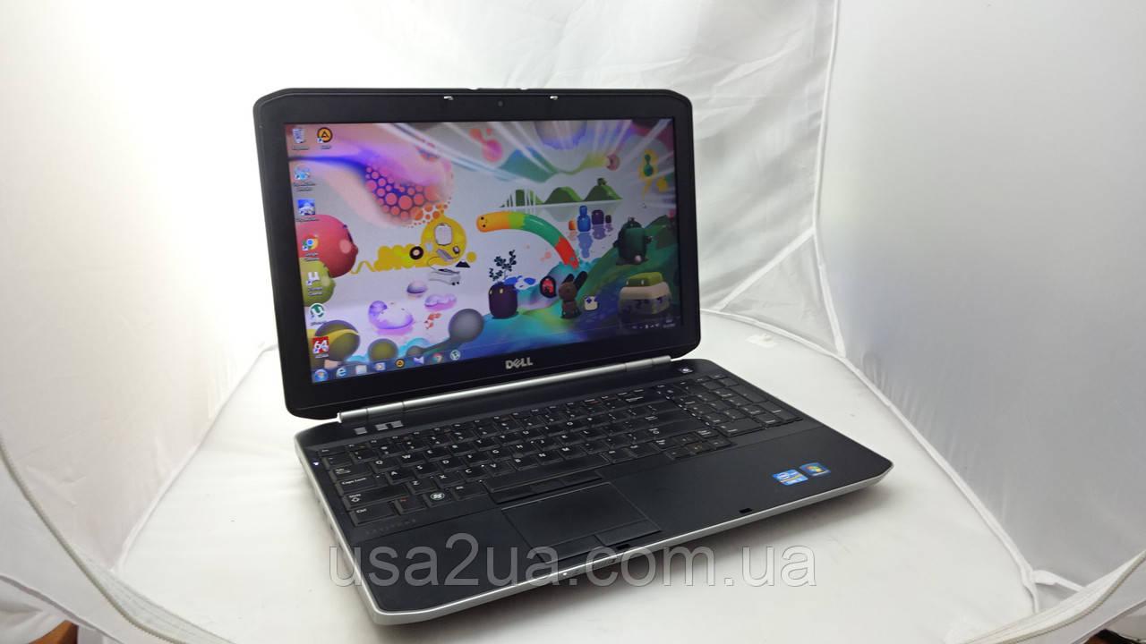 Бизнес Ноутбук Dell Latitude E5520 Core I5 2gen 500Gb 4Gb WEB Кредит Гарантия Доставка