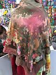 Платок шерстяной из разреженной шерсти 10251-10, фото 6