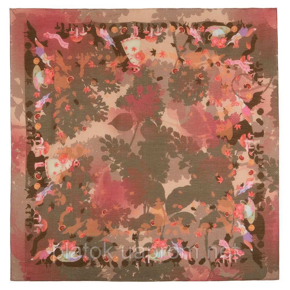 Платок шерстяной из разреженной шерсти 10251-10