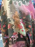 Платок шерстяной из разреженной шерсти 10251-10, фото 3