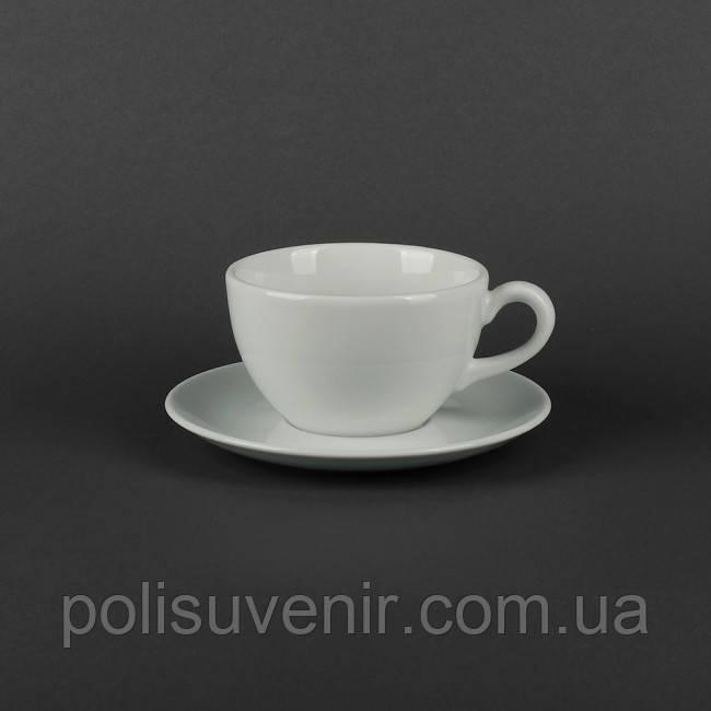 Чашка Аіда 280 мл з блюдцем 160 мм