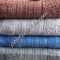 Махровое лицевое полотенце Вязанка, фото 1
