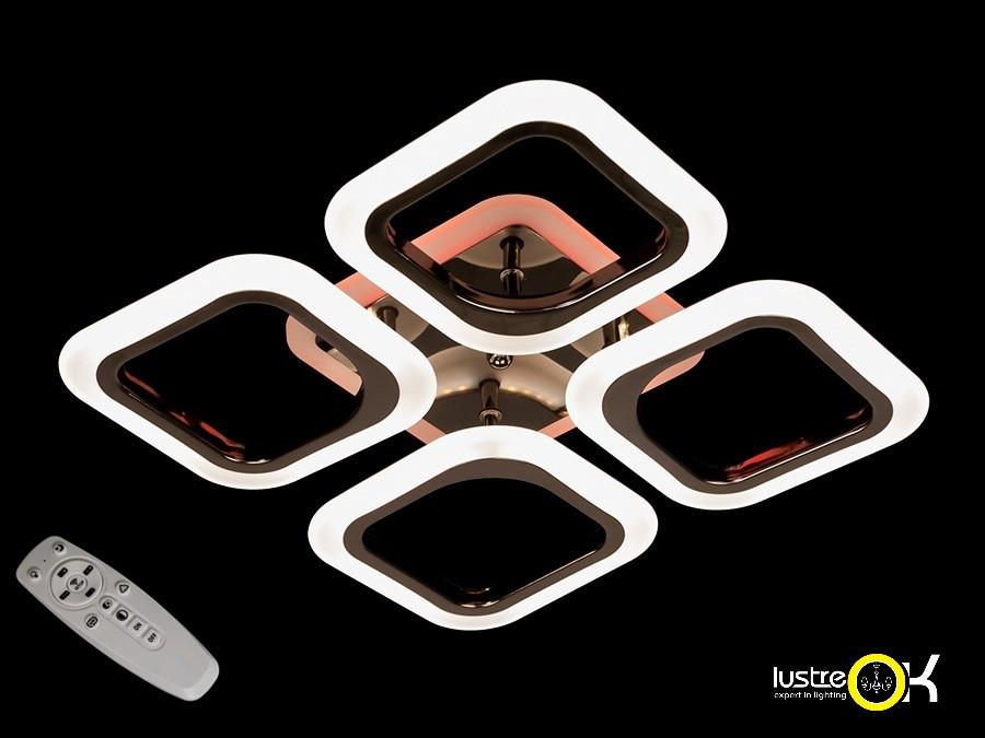 Люстра светодиодная потолочная AS8060/4BHR LED 3color dimmer