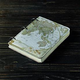 Блокнот v.1.0. А6 Fisher Gifts 41 Путешественник (эко-кожа)