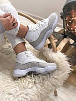 2052 Nike Jordan белые кроссовки женские джордан кросовки высокие