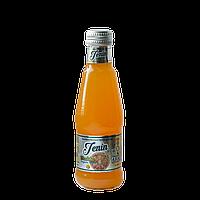 Лимонад Lacin со вкусом мандарин 0,2 л газированный,стекло (уп/6 бут.)
