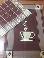 Полотенце вафельное 50*70 см КОФЕ