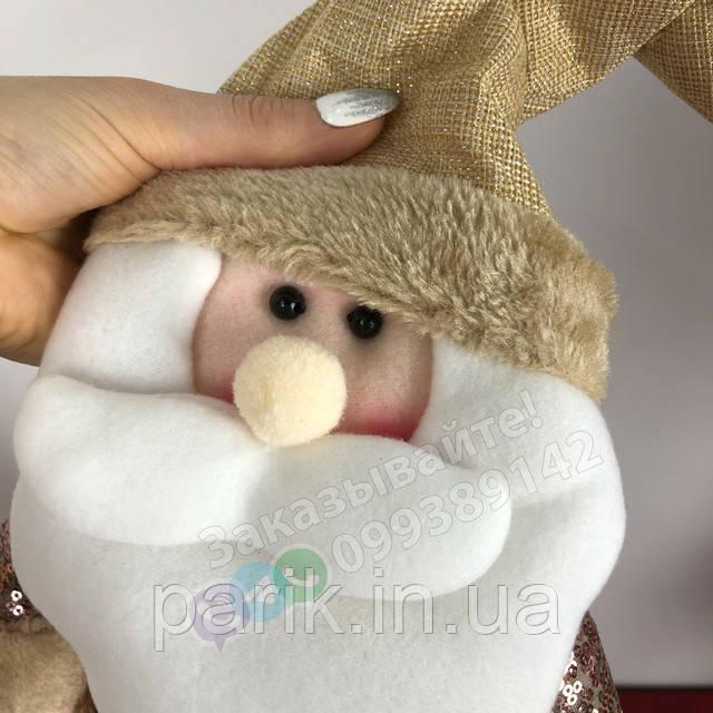 Дед Мороз игрушка Санта Клаус под елку 3-1