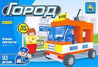 Конструктор AUSINI 25302 ГОРОД -  Автобус (93 дет.)